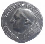 obverse: Medaglie . Card.Pietro Barbo, poi Papa Paolo II (1464-1471) AE,foro. BB. Originale **