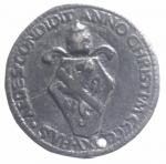 reverse: Medaglie . Card.Pietro Barbo, poi Papa Paolo II (1464-1471) AE,foro. BB. Originale **