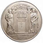 D/ Medaglie - Roma 1975. Paolo VI. Anno Santo. Metallo bianco. gr 59,97. mm 49,24. spessore mm 5,5. Buone condizioni