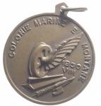reverse: Medaglie.1930 Anno VIII era fascista,Colonie marine e montane.BB+.gf