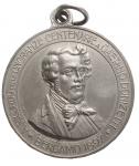 obverse: Medaglie - Bergamo. Medaglia a ricordo di Gaetano Donizetti. gr 15,5. mm 32. Buone condizioni