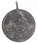reverse: Medaglie .Milano 1881. Esposizione Internazionale.Ae. Patina.BB+.gf