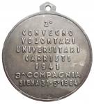 reverse: Medaglie - Siena 1964. Carristi. gr 11,6. mm 30,6. SPL. Patina