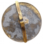 reverse: Medaglie - Torino. LA REALE ACCADEMIA D AGRICOLTURA IN TORINO Placchetta Ottone ? gr 70,4. mm 56.
