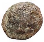 D/ Varie - Mondo Greco. Oncia in Ae da catalogare. Zeus/Cane. gr 1,1. mm 13,04 x 11,3.