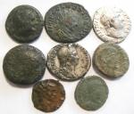 obverse: Lotti. Lotto di otto monete impero romano. Notato un denario di Adriano ed uno di Sabina, ambedue suberati. Mediamente MB.