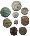obverse: Lotti - Evo Antico. Lotto di 9 pezzi in Ae Inclusi sesterzi di Massimino I e Gordiano Pio