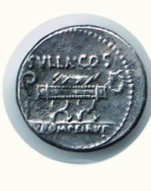 D/ Roma - POMPEIA - Quintus Pomeius Rufus (54 a.C.) - Seaby 5. SPL