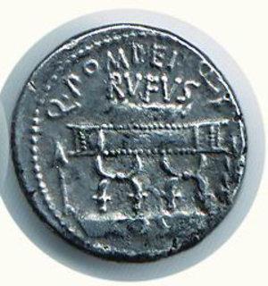 R/ Roma - POMPEIA - Quintus Pomeius Rufus (54 a.C.) - Seaby 5. SPL