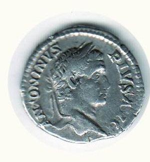 D/ CARACALLA (198-217) - Denario; D/ Busto laureato a d.; R/ Caracalla sacrificante a s. - Cohen 688. NC - AR - MB