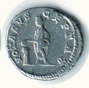 R/ CARACALLA (198-217) - Denario; D/ Busto laureato a d.; R/ Caracalla sacrificante a s. - Cohen 688. NC - AR - MB