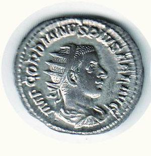 D/ Roma - Gordiano III. Antoniniano; R/