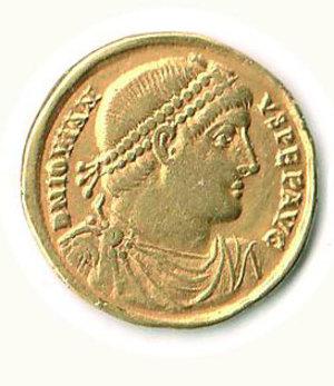 D/ Roma - Gioviano (363-364) - Solido Zecca Antiochia - Cohen 8/15. RRR - q.SPL