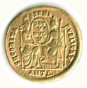 R/ Roma - Gioviano (363-364) - Solido Zecca Antiochia - Cohen 8/15. RRR - q.SPL
