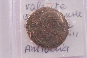 D/ Roma - Valente - Centennionale; R/ Restitutor Reip - Zecca Antiochia. BB+
