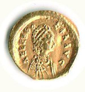 D/ Roma - Eudossia (moglie di Teodosio II) - Tremisse Zecca Costantinopoli - RIC 253. SPL