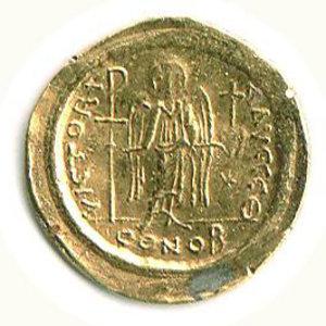 D/ Roma - Giustiniano (527-565) - Solido - Sear 139. SPL