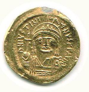 R/ Roma - Giustiniano (527-565) - Solido - Sear 139. SPL