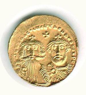 D/ Roma - Eraclio ed Eraclio Costantino (613-638) - Solido - Sear 734. SPL