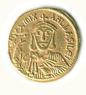 D/ Roma - Michele II (820-829) con Teofilo - Solido; D/ Michele II; R/ Teofilo - Sear 1640. R - q.SPL/BB+