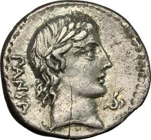 obverse: C. Vibius C. f. Pansa.. AR Denarius, 90 BC