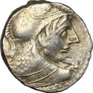 obverse: Cn. Cornelius Lentulus Clodianus.. AR Denarius, 88 BC