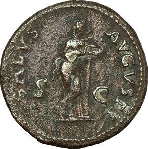 reverse: Galba (68-69).. AE As, 68-69