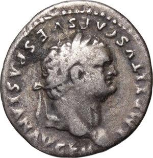 obverse: Titus (79-81).. AR Denarius, 79-80
