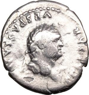 obverse: Titus (79-81).. AR Denarius, 77-78