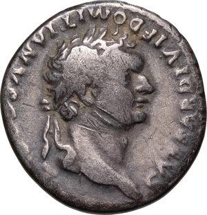 obverse: Domitian as Caesar (69-81).. AR Denarius, 80-81