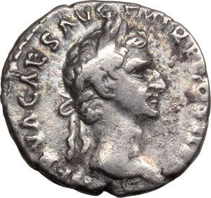 obverse: Nerva (96-98).. AR Denarius, 96 AD