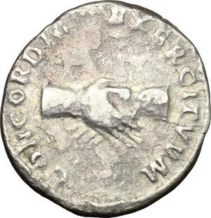 reverse: Nerva (96-98).. AR Denarius, 97 AD