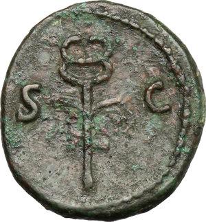 reverse: Nerva (96-98).. AE Quadrans, 98 AD