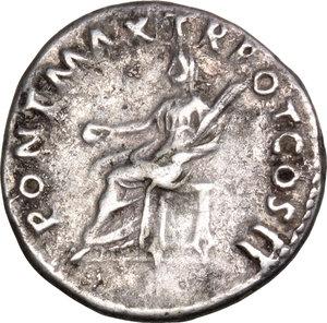 reverse: Trajan (98-117).. AR Denarius, 98-99