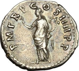 reverse: Trajan (98-117).. AR Denarius, 101-102