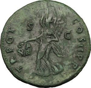 reverse: Trajan (98-117).. AE As, 98-99