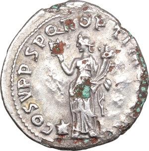 reverse: Trajan (98-117).. AR Hybrid Fourree Denarius