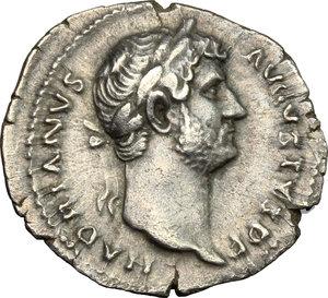 obverse: Hadrian (117-138).. AR Denarius, 134-138