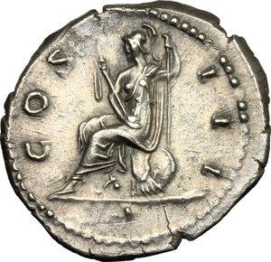 reverse: Hadrian (117-138).. AR Denarius, 134-138