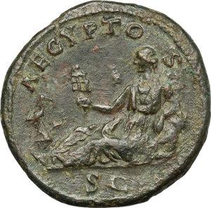 reverse: Hadrian (117-138).. AE Dupondius, 134-138