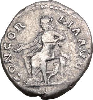 reverse: Sabina, wife of Hadrian (died 137 AD).. AR Denarius, 128-136