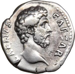 obverse: Aelius Caesar (136-138).. AR Denarius, 137 AD