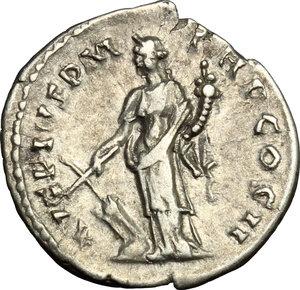 reverse: Antoninus Pius (138-161).. AR Denarius, 139 AD