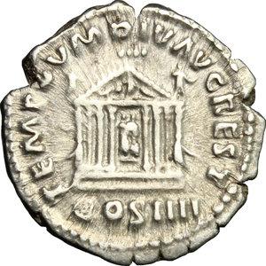 reverse: Antoninus Pius (138-161).. AR Denarius, 145-161