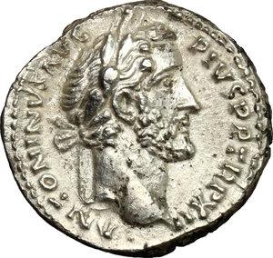 obverse: Antoninus Pius (138-161).. AR Denarius, 148-149