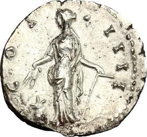 reverse: Antoninus Pius (138-161).. AR Denarius, 148-149