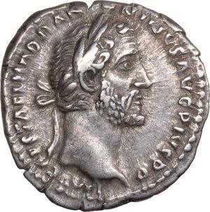 obverse: Antoninus Pius (138-161).. AR Denarius, 150-151
