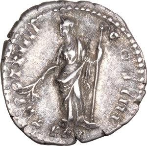reverse: Antoninus Pius (138-161).. AR Denarius, 150-151