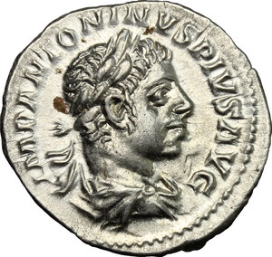 D/ Elagabalus (218-222). AR Denarius, 218-222.  D/ Bust right, laureate, draped. R/ Libertas standing left, holding pileus and scepter; to left, star. RIC 107b. AR. g. 2.94  mm. 19.00   From masterly engraved dies. About EF.