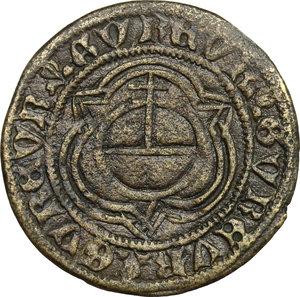 reverse: Germany. AE Rechenpfennig, Nuremberg mint, 1500-1570